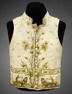 Waistcoat, 1780 – 1789, France. © Victoria and Albert Museum, London